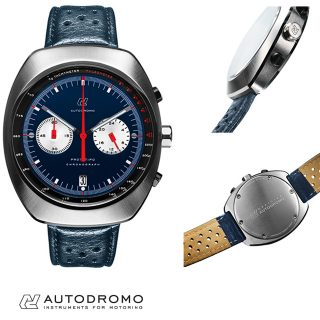 Autodromo's New Blue Dial Prototipo Is Just in Time for Winter