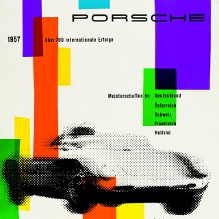 Hanns Lohrer Helped Create Porsche's Bold Graphic Identity