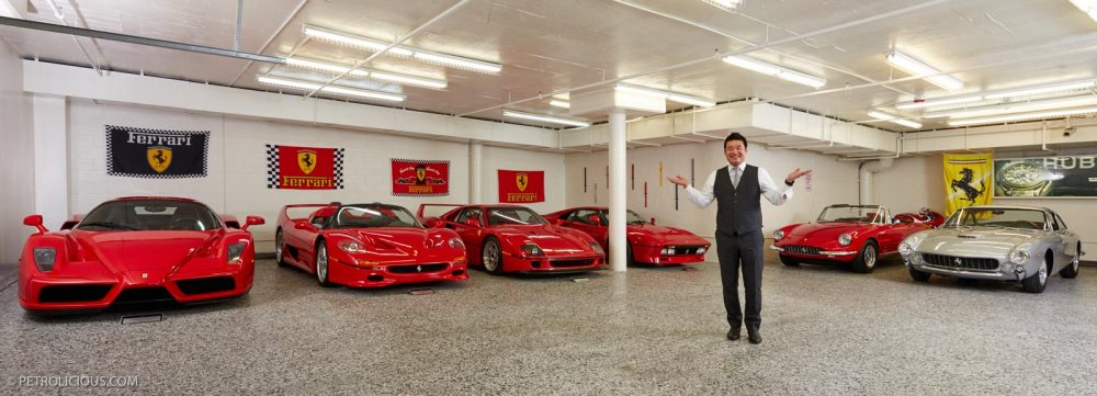 David Lee S Ferrari Collection Will Make You Stay In School Petrolicious