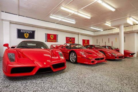 David Leeu0027s Ferrari Collection Will Make You Stay In School