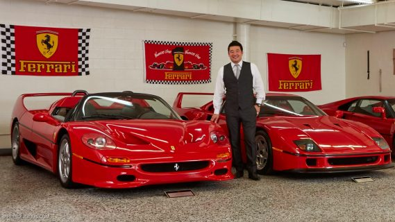 David Lee S Ferrari Collection Will Make You Stay In