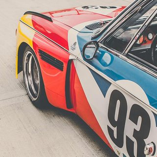 BMW 3.0CSL is a Speeding Art Exhibit