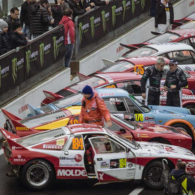 Monza Rally Is a Legends Showcase