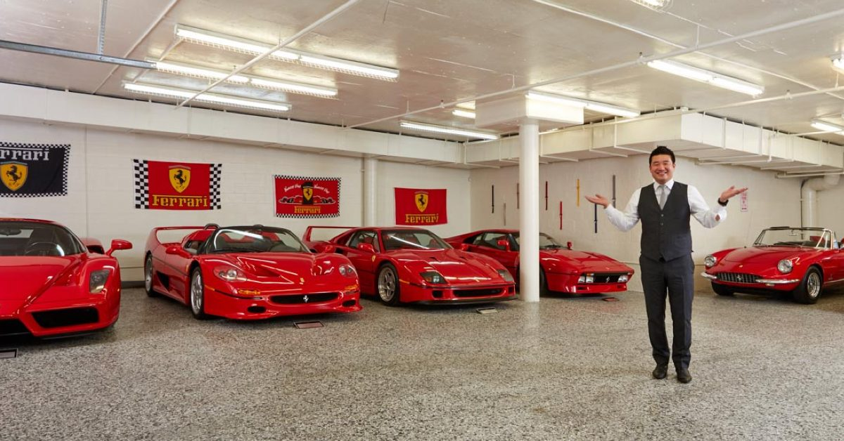 David Lee's Ferrari Collection Will Make You Stay in School