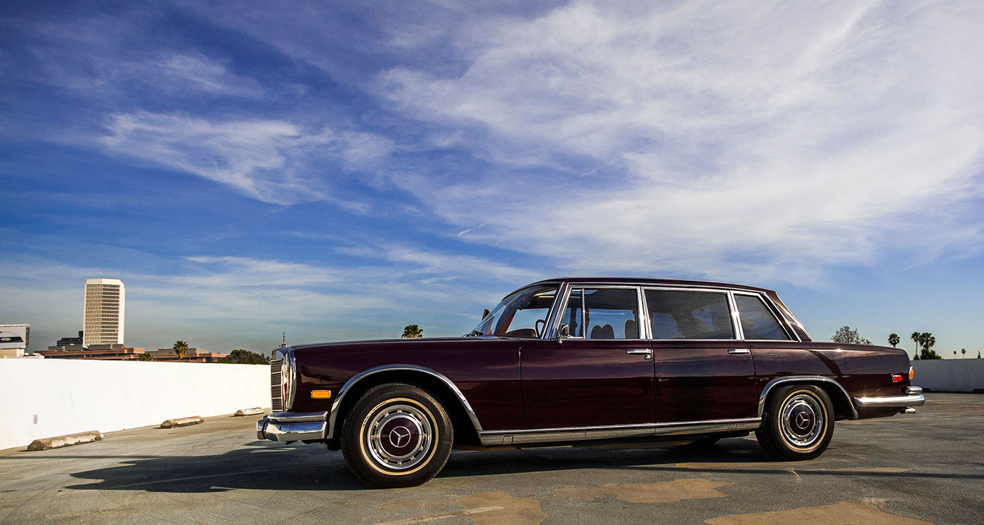Jack nicholson s mercedes benz 600 grosser stands in for Mercedes benz 600s