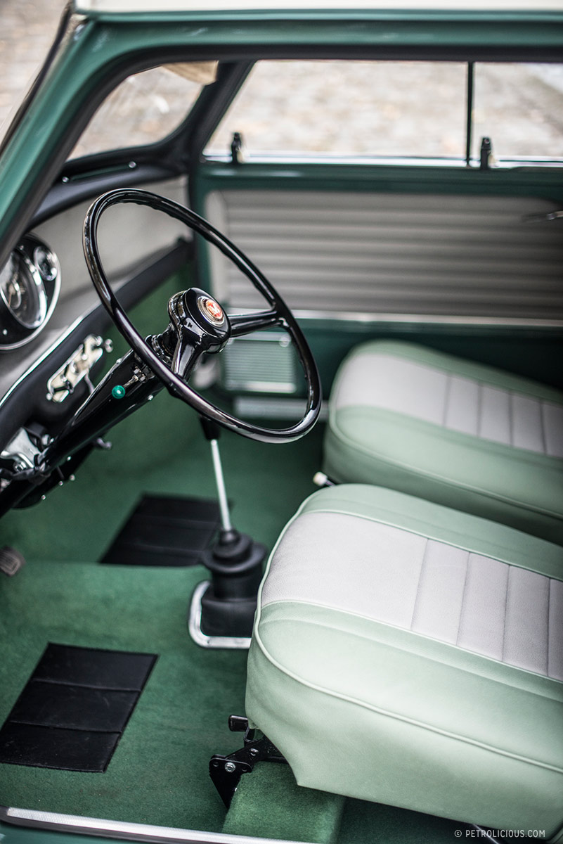 the mini was the giant killer born to burst some bubbles petrolicious. Black Bedroom Furniture Sets. Home Design Ideas