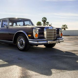 Jack Nicholson's Mercedes-Benz 600 Grosser Stands In