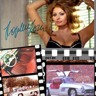 Sophia Loren, Spaghetti, and Gullwings