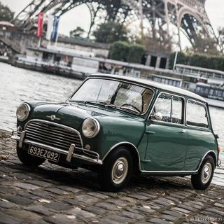 The Mini was the Giant Killer Born to Burst Some Bubbles