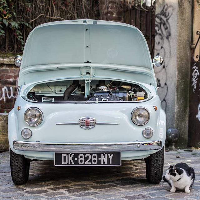 Simplicity Led to the Fiat 500's Unintentional Charm