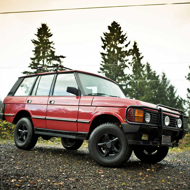 Trading up to a Range Rover Classic