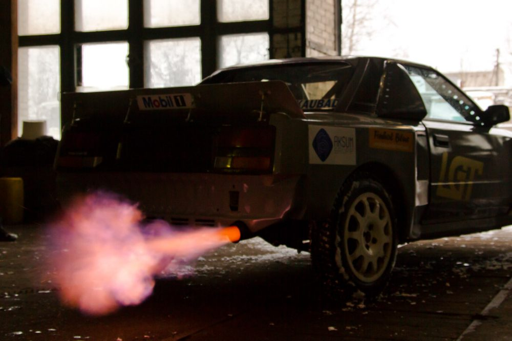 toyota 222d group b lives on as homebuilt estonian rally car