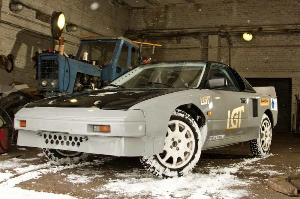 Toyota 222D Group B Lives On As Homebuilt Estonian Rally Car ...
