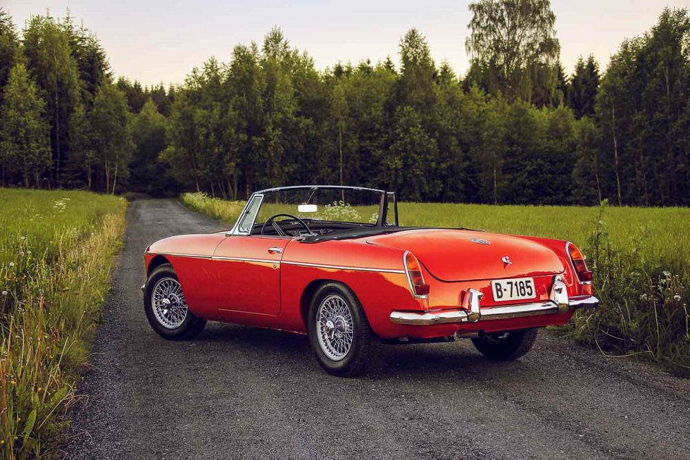 the story of an early mgb in a fascinating place petrolicious