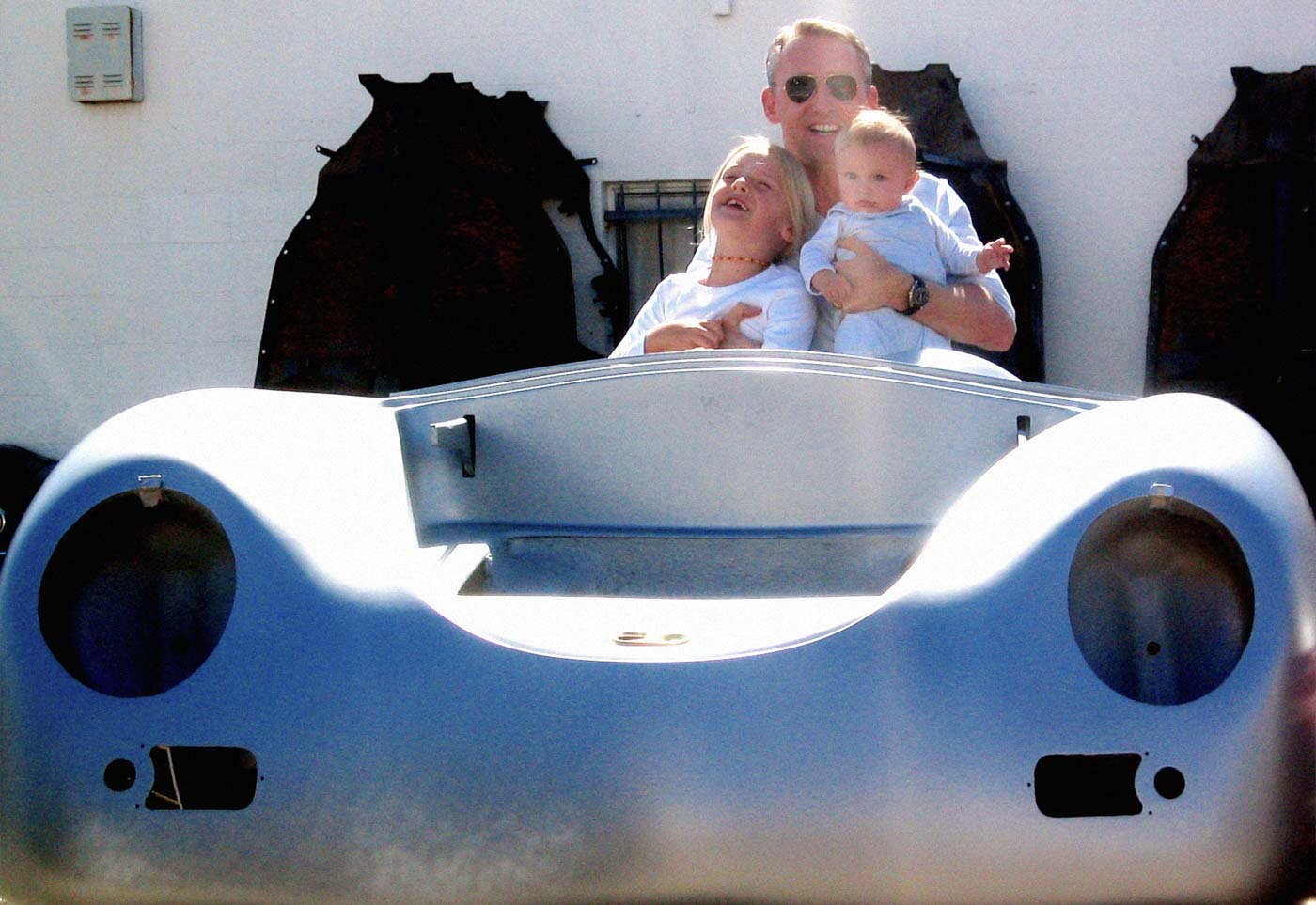 Learning To Drive In A Porsche Speedster Replica