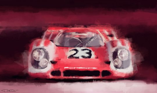 Fall Into Tad Orlowski S Lush Paintings Of Classic Cars Petrolicious