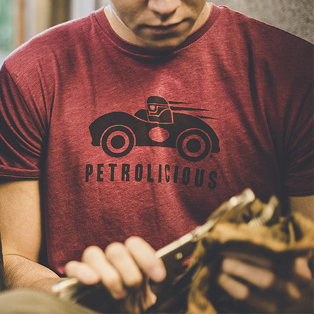 Be the first With a Petrolicious T-Shirt