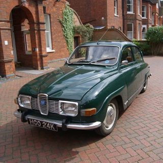 This Saab 96 is the Perfect Fit For Its Teenaged Owner