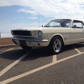 Experiencing California from the driver's seat of a '65 Ford Mustang