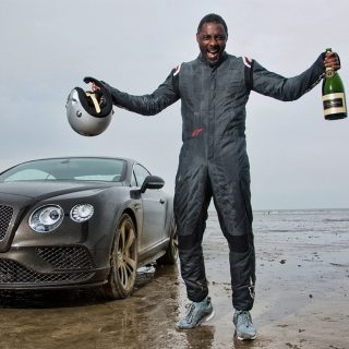 What's Cool About the Record That Star Wars' Idris Elba Broke in a Bentley?