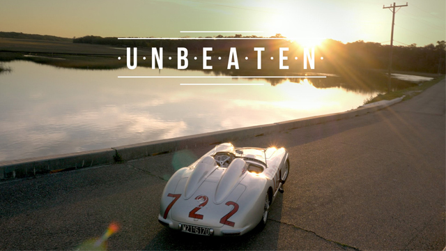 Sir Stirling Moss and the Mercedes-Benz 300 SLR #722 are Unbeatable