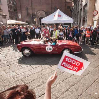 What's Special about the Finish of the 2015 Mille Miglia?
