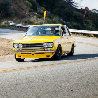 Japanese Nostalgic Car's First True California Touge