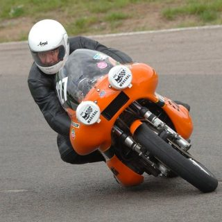 I Became A Factory Laverda Rider at 53