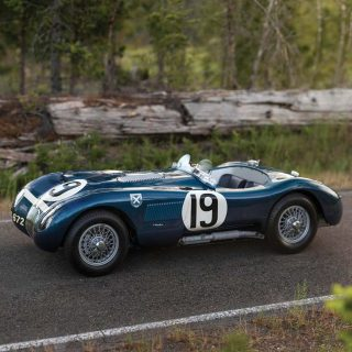 Ahead Of Its Time On Track, Jaguar's Lightweight C-Type