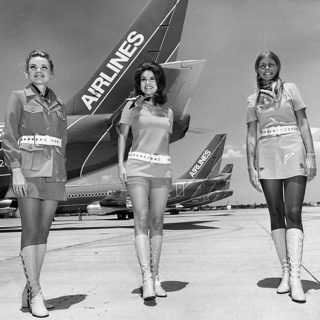 When Fashionable Women Ruled The Skies