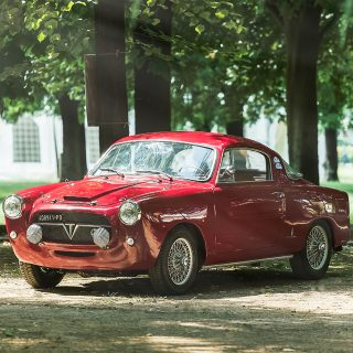 110 MPH Terror From Italy: A Tuned Fiat 1100 TV by Pininfarina