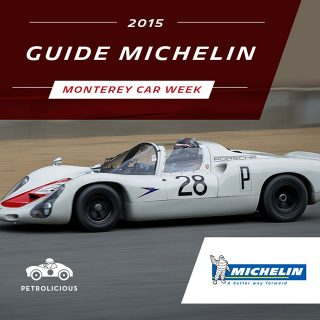 Introducing The Petrolicious Guide to Monterey Car Week Presented by Michelin