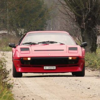 Dueling In The Rain With A Ferrari 208 GTB Turbo