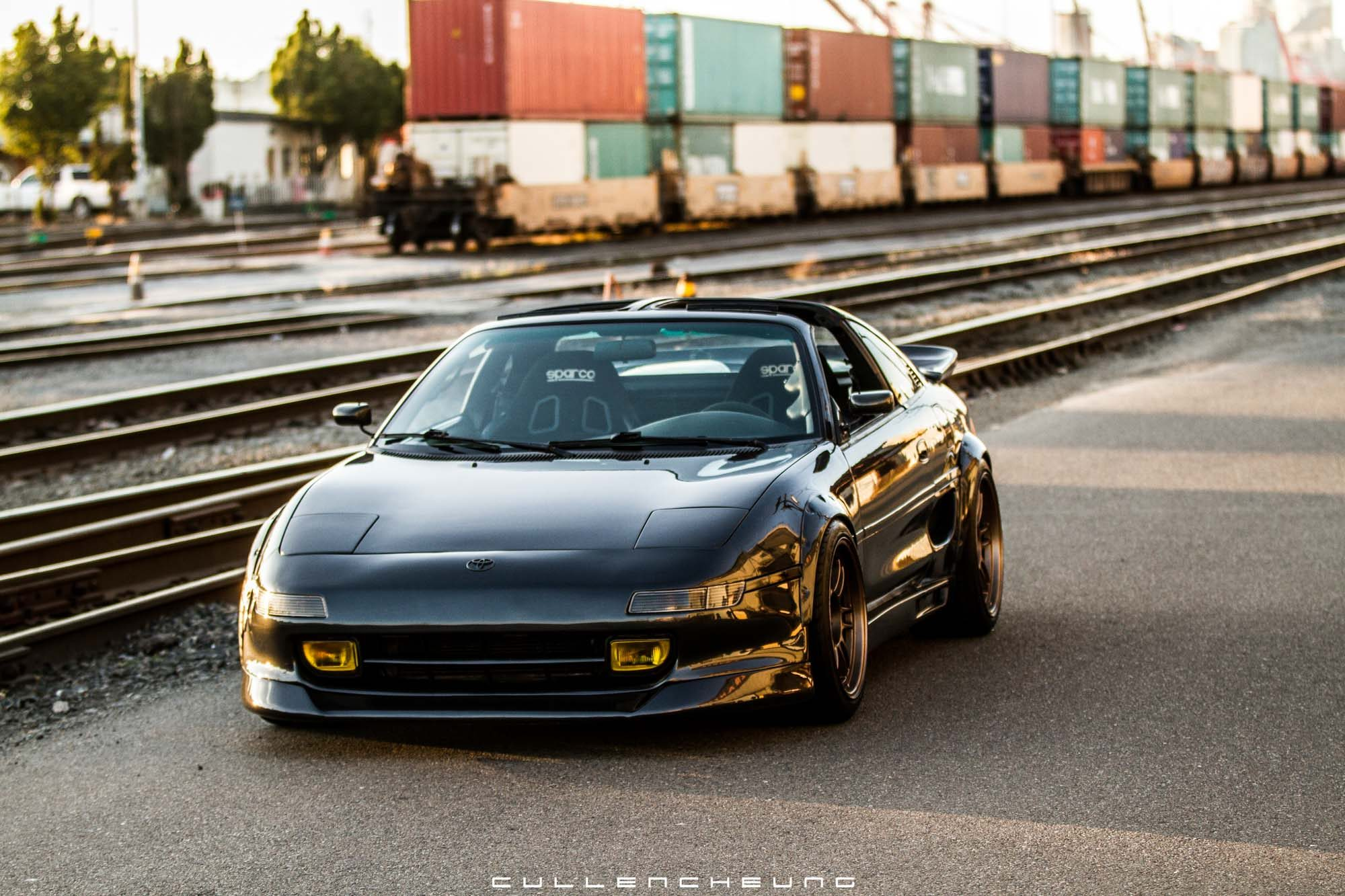 a restored toyota mr2 that lives for the twisties petrolicious. Black Bedroom Furniture Sets. Home Design Ideas