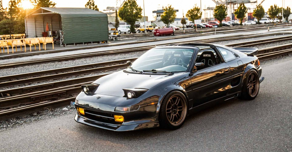 A Restored Toyota MR2 That Lives For the Twisties