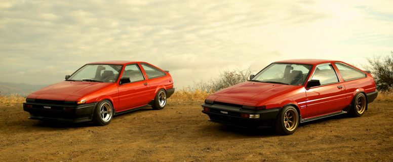 a brief history of the toyota ae86 corolla petrolicious. Black Bedroom Furniture Sets. Home Design Ideas