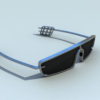 Conceptual Classic Car-Inspired Sunglasses