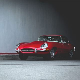 This Early Jaguar E-Type Has Moved To Moscow