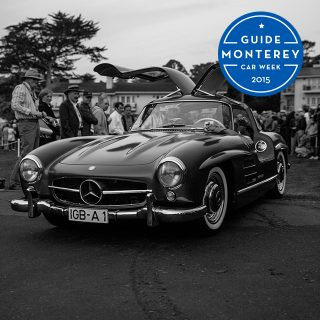 The Pebble Beach Concours d'Elegance At Dawn Is Perfect