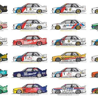 Your Favorite Race Cars Artfully Defined