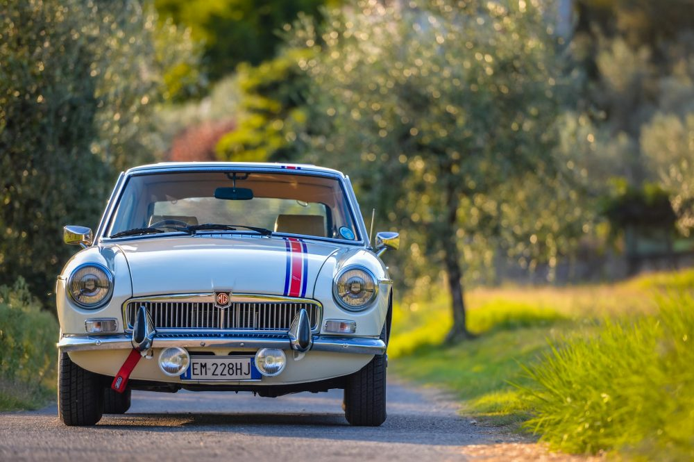 Even The MGB GT Looks Like A Million Bucks In Italy • Petrolicious