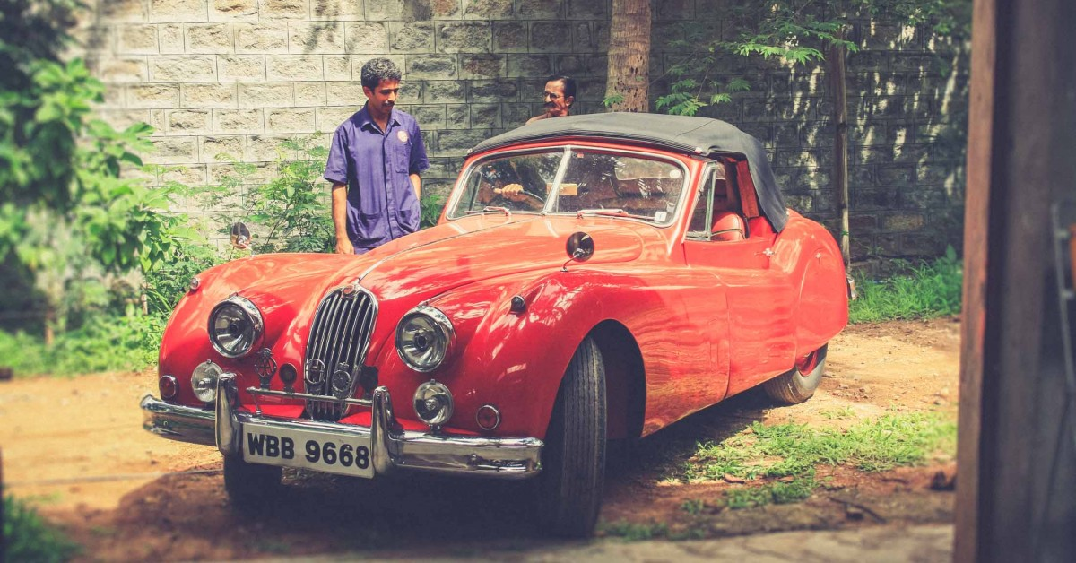 A Morning With An Astounding Indian Car Collector • Petrolicious