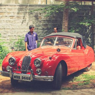 A Morning With An Astounding Indian Car Collector