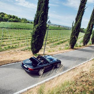 This Venomous Dodge Viper Infiltrates The Italian Countryside