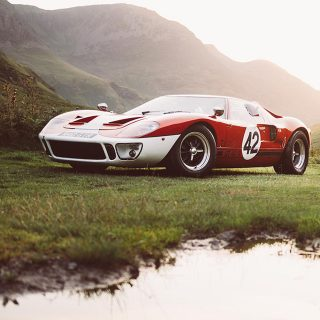This Ford GT40 Is A Surreal Trip