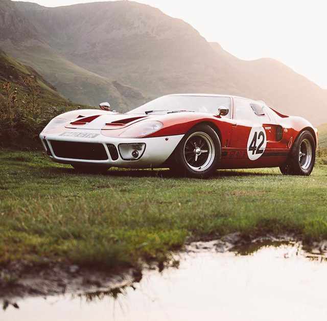 This Ford GT40 Is A Surreal Trip • Petrolicious
