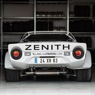 This Heavenly Garage Only Works On Lancia Rally Cars