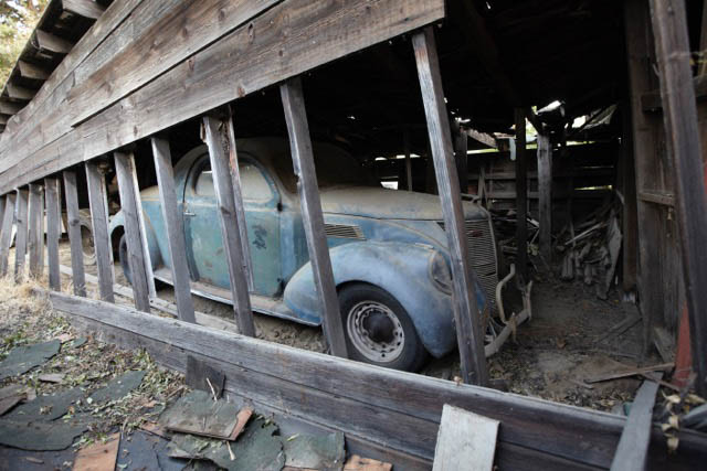 After Some Creative Sleuthing I Tracked Him Down And We Discussed The Car His Dad Had Bought It In 40s Been Sitting Barn Since