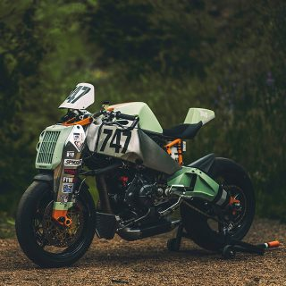 This Custom Pike's Peak Racer Is From A Post Apocalyptic Future