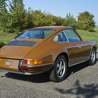 Steve McQueen's Mistress' Porsche 911T Is For Sale